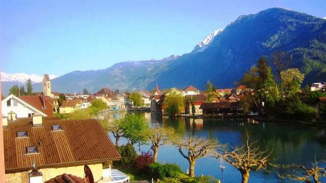 مدينة انترلاكن من المدن المهمة في سويسرا