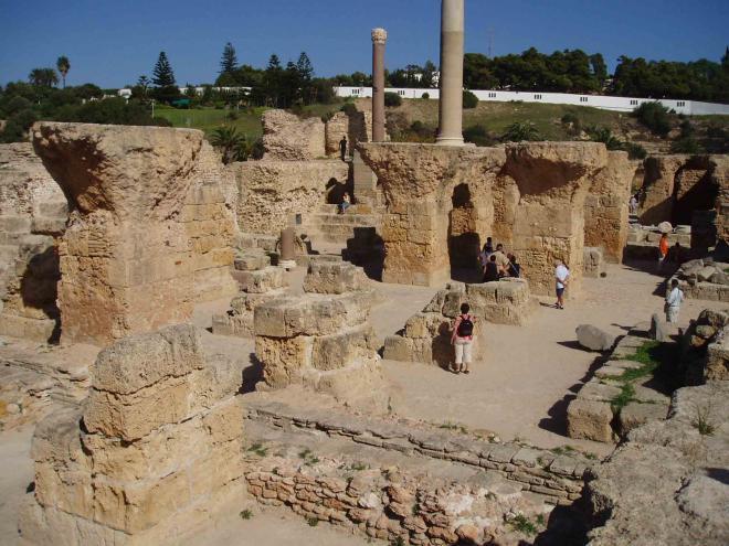 قرطاج ( احد اهم اماكن تونس السياحية )