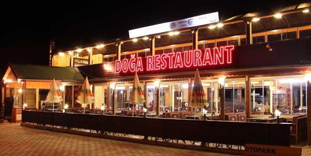 تقرير مصور عن مطاعم اوزنجول ( السياحة فى تركيا 2014)