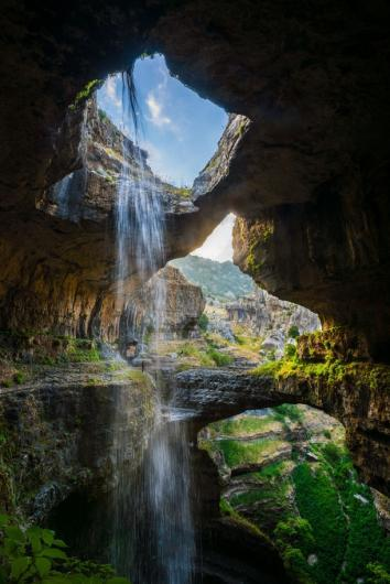 شلالات باتارا جورجى baatara gorge falls ( اجمل شلالات العالم والتى تشتهر بها سياحة لب
