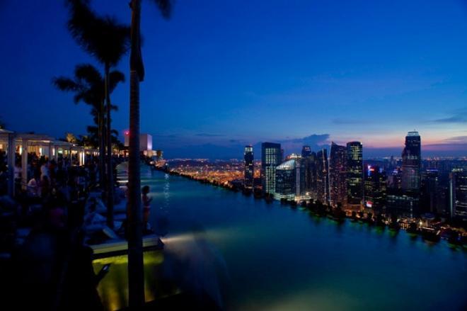 صورفندق مارينا باى ساندز فى سنغافورة