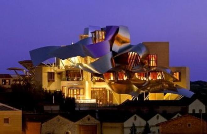 فندق ماركيز دى ريسكال فى اسبانيا ( من اغرب فنادق العالم والمكان الامثل لمحبى عمل رح