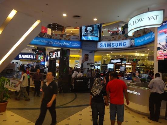 افضل اسواق الموبايلات فى ماليزيا كوالالمبور