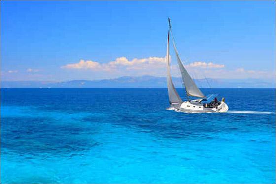 رحلة الى جزيره سانتورينى (جنوب الأرخبيل اليوناني)