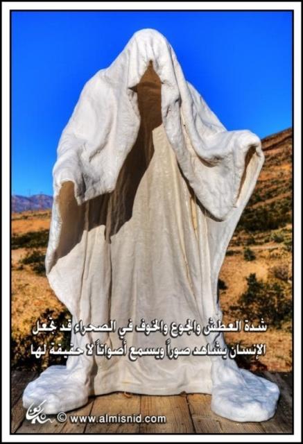 سبيل البقاء في متاهات الصحراء , نصائح عند الضياع فى الصحارى