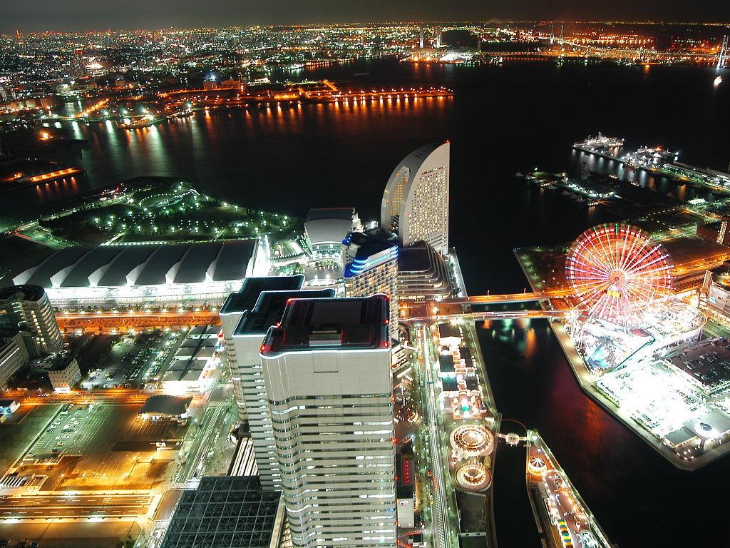 صور رائعة لليابان ليلا