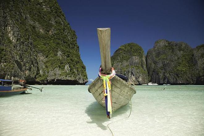 رحلة سياحية الى شاطئ مايا ( شاطئ خليج مايا فى تايلاند)