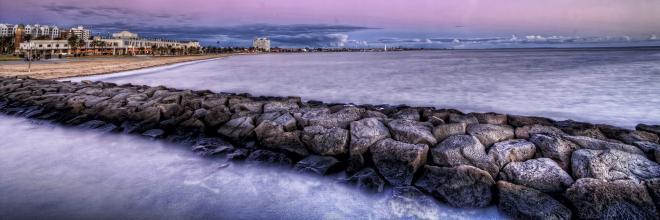 شاطئ سانت كيلدا هو واحد من اجمل الاماكن السياحية فى ملبورن