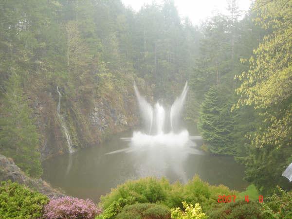 صور حديقه بوتشارت في كندا