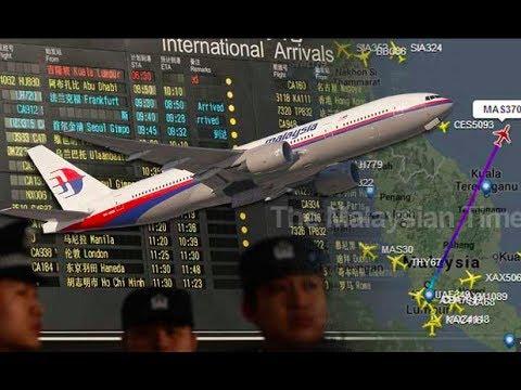 السيناريو المحتمل لاختفاء طائرة الخطوط الماليزية mh 370