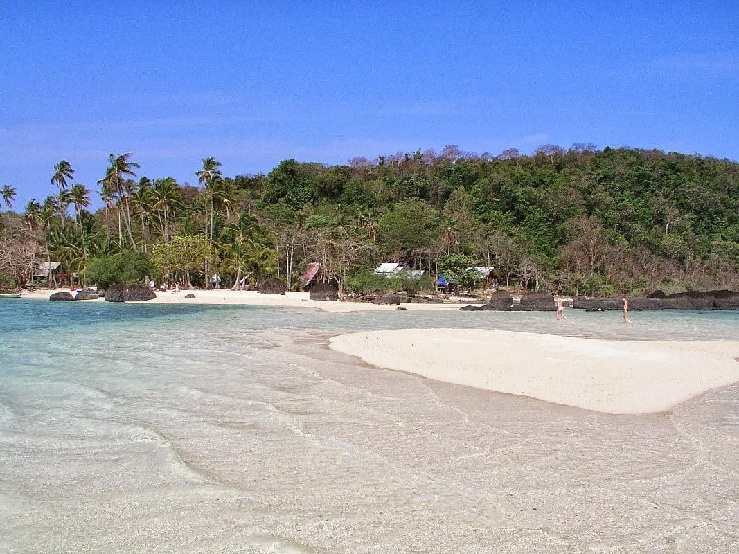 زيارتى اليوم الى جزيرة كو خام التايلانديه ( لإحتوائها على شواطئ رائعة الجمال وخاصة ال
