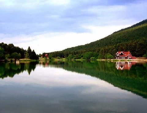 بحيرة أبانط بولو ، بحيرة أبانت بولو ، تركيا ، معلومات وصور