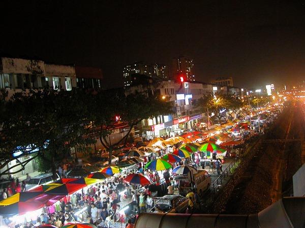 سوق الليل في كوالالمبور – السوق الليلي في ماليزيا كوالالمبور سوق الليل كوالالمبور