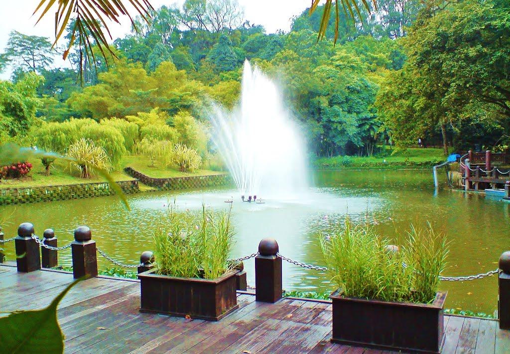 بحيرة تيتى وانجسا فى كوالالمبور Titi Wangsa Lake