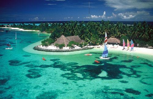 صور رحلتى الى جزيرة الباونتي احدى جزر المالديف