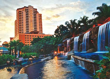 جولة بالصور الى فندق بيراميد تاور - ماليزيا