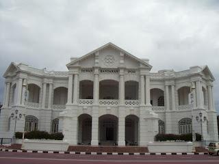 المركز التجاري العالمي مدينة إيبوه في ماليزيا