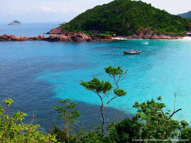 تعرف على جزيرة ريدانج القريبة من كوالا ترينجانو