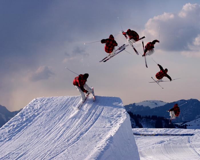 منتجع للتزلج، الولايات المتحدة الأمريكية