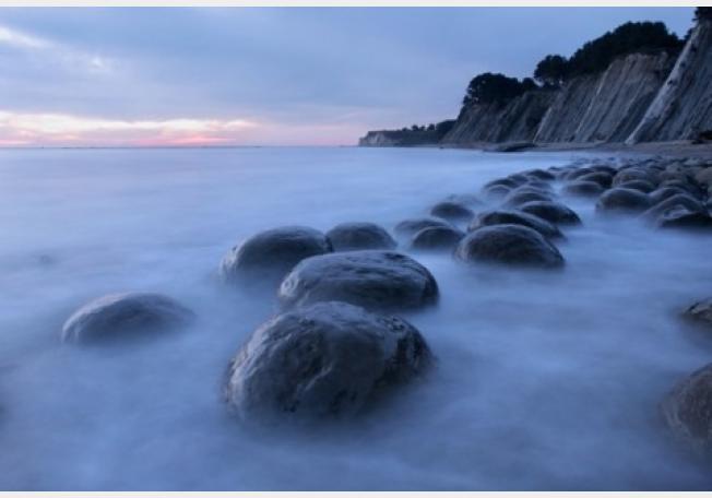 الشاطئ الساخن في مدينة كوروماندل بينينسولا- نيوزيلندا