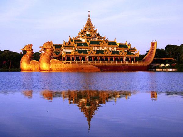 جولة بالصور في دولة بورما - اسيا
