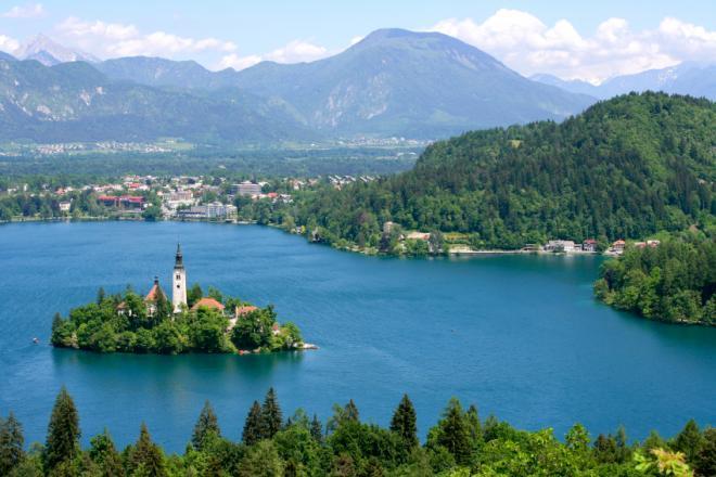 صور من مدينة سلوفينيا slovenia