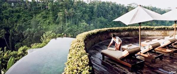 مجموعة من الصور ل منتجع الحدائق المعلقة في جزيرة بالي ب إندونيسيا