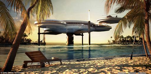 صور فندق تحت البحر في دبي