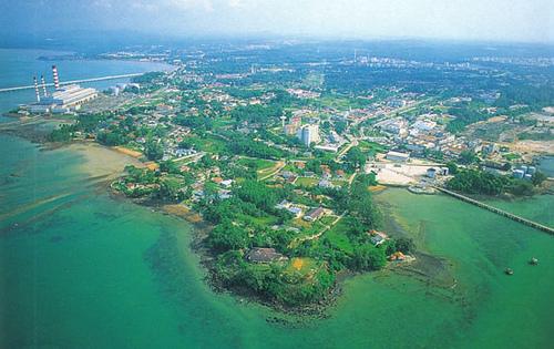 زيارة الى شواطئ ماليزيا شاطئ وميناء بورت ديكسون