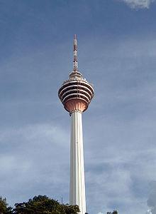 تقرير مصور عن برج الاتصالات فى ماليزيا 2014. Menara Kl
