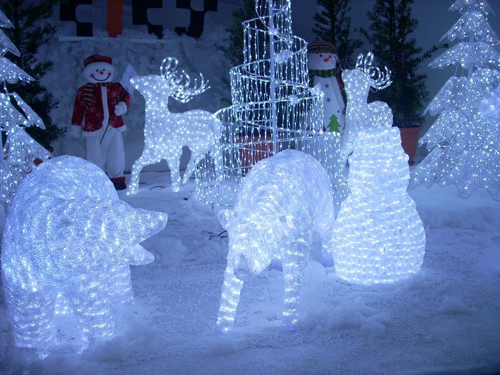 Ice City المدينة الثلجية ( تتمتع بمناظر الجليد في ماليزيا )