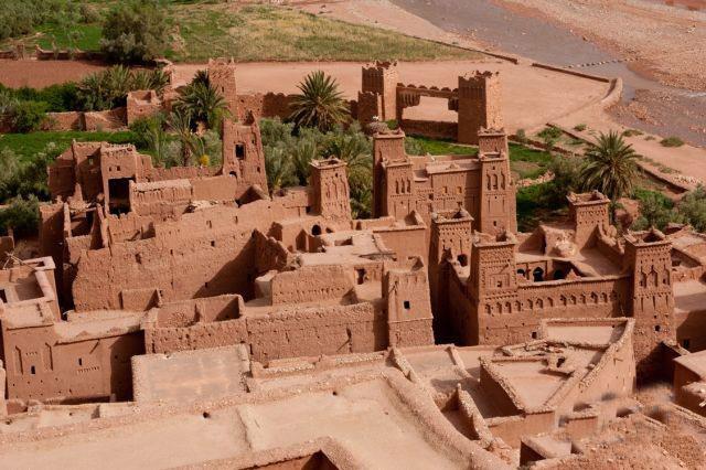 صور قصر آيت فى المغرب
