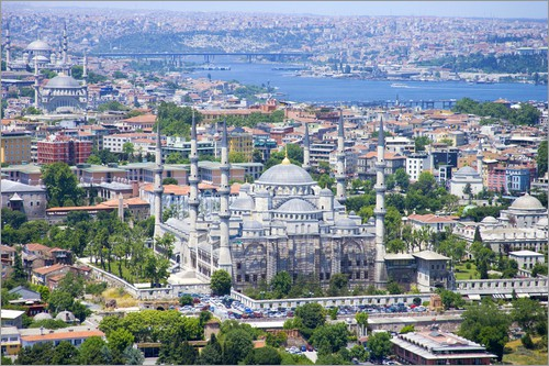 مدينة إسطنبول في تركيا جامع السلطان أحمد   , Sultan Ahmed Mosque