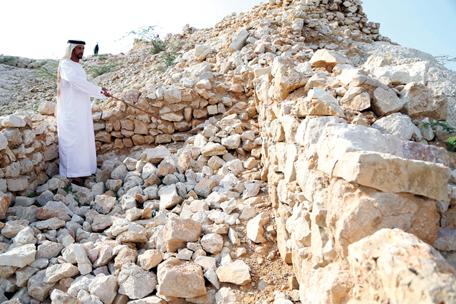 المناطق الأثرية في دولة الامارات عديدة جدا
