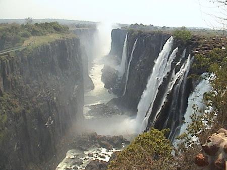اشهر شلالات العالم ...في جنوب وسط أفريقيا