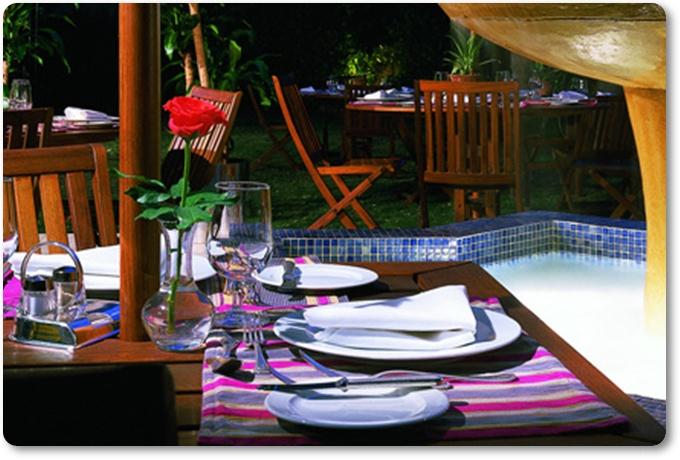 مطعم جاردن باربيكيو بالصور أفخم مطعم في فندق حديقة الخزامى الرياض