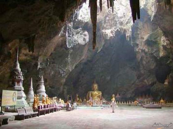 الكهف الفاخر في تايلاند