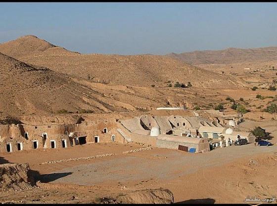 صورمدينة تونسية تحت الأرض