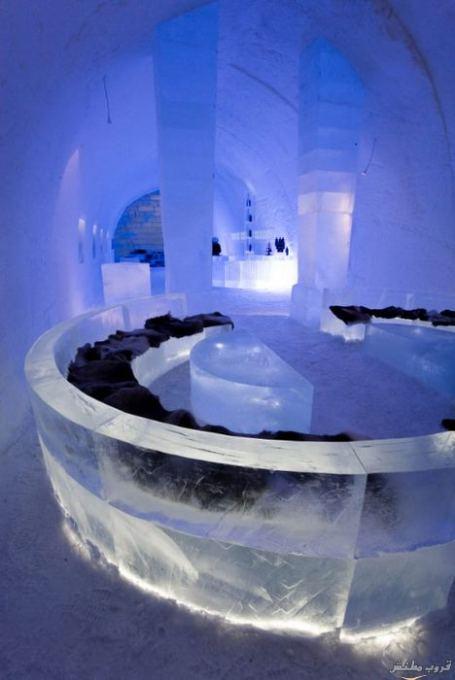 أكبر فندق من الجليد والثلوج فى العالم ( فنادق السويد 2014)
