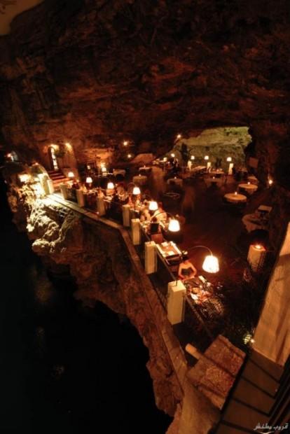 صورالمطعم الأكثر رومانسية في العالم ( السياحة فى ايطاليا 2014)