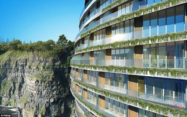 صور فندق تحت الأرض وفي الصخور بتكلفة 555 مليون دولار ( فنادق الصين 2014)