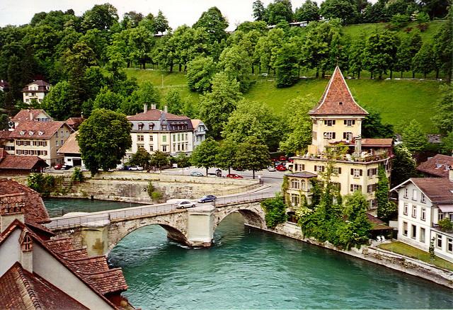 مدينة برن السويسرية ... قمة الجمال والروعة