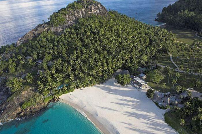 صور جزيرة خاصة جميلة في سيشيل