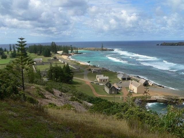 تقرير مصور عن جزيرة نورفورك الاسترالية