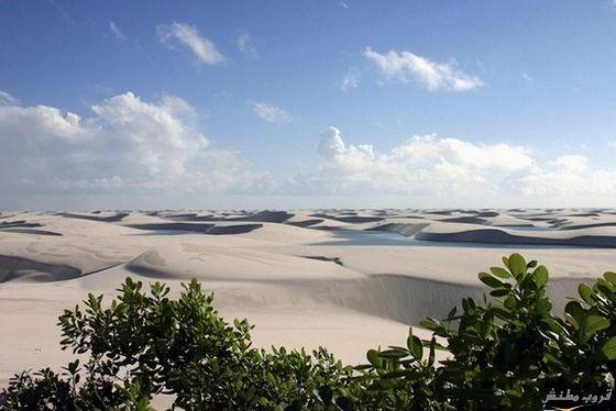 زيارة الى بحيرات الصحراء البيضاء في البرازيل