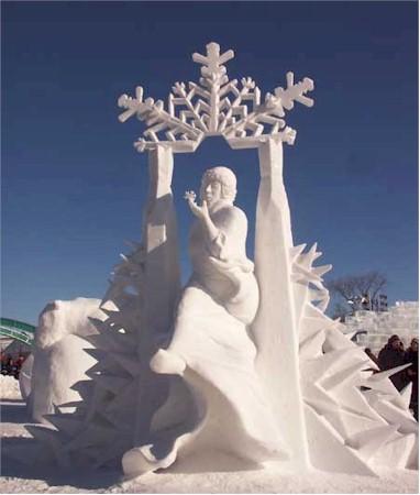 العاصمة الكندية ومهرجان الثلج