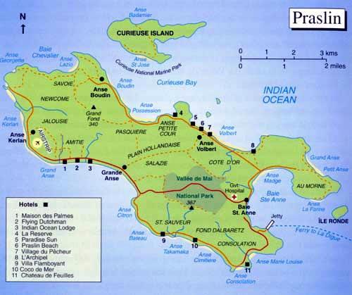 جزيرة براسلين في سيشيل جمال يروى على مر العصور