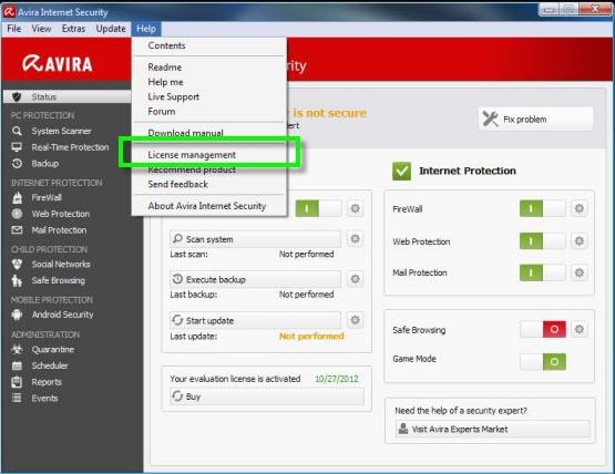 برنامج الحمايه Avira 2014 14.0.4.642 في اخر اصدار + التفعيل