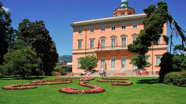 صور حديقة باركو سيفيكو سياني Parco Civico Ciani في سويسرا