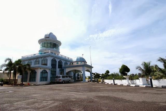 زيارة الى مجمع الخوارزمي للفلك في ماليزيا